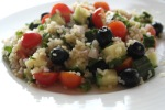 Bulgursalat med Oliven
